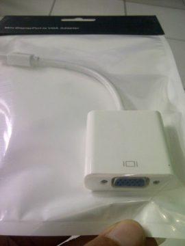 konektor mac mini ke proyektor