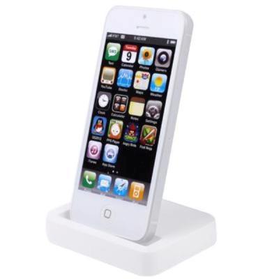 dock charger iphone 5 putih
