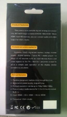 adapter micro hdmi